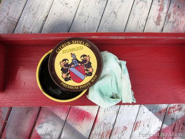 antiquing paint Petticoat Junktion