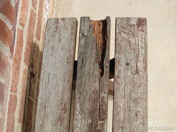 bench summer porch tour Petticoat Junktion.