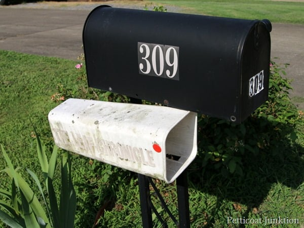 i want to paint my mailbox Pettiocoat Junktion