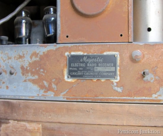 metal plate Petticoat Junktion