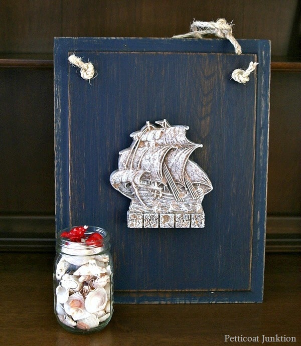 nautical wall decor Petticoat Junktion refunktion