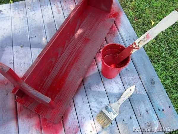 red paint Petticoat Junktion