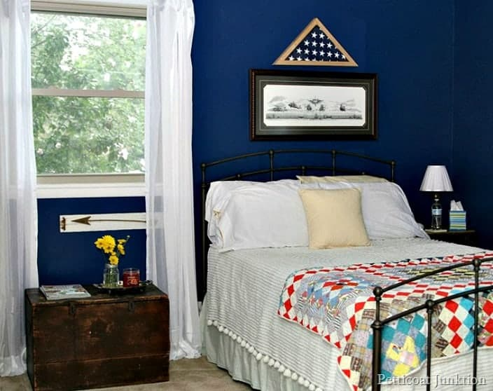 Create a warm and inviting guest room Petticoat Junktion