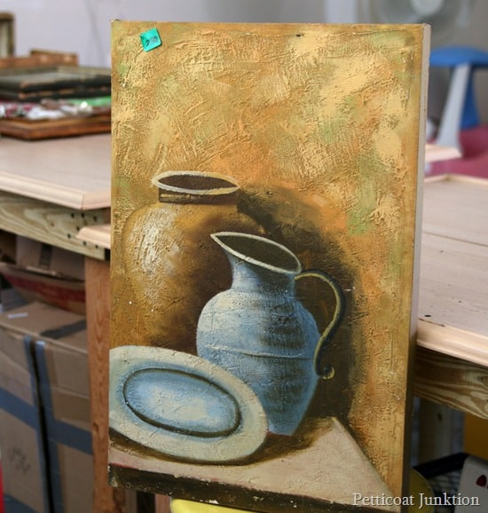 DIY Fail painting before Petticoat Junktion