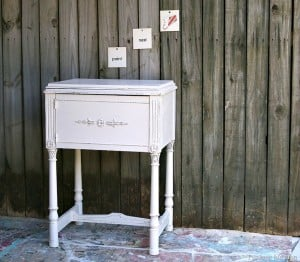 DIY Painted Distressed Furniture Project Wrap Up