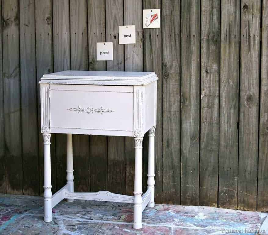 DIY Painted Distressed Furniture Project Wrap Up-Petticoat ...