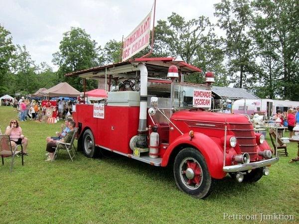 homemade ice cream truck 127 yard sale