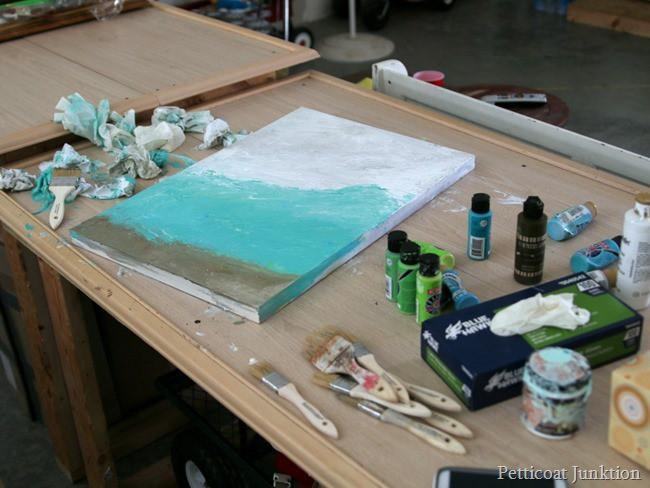 paint project Petticoat Junktion diy art fail