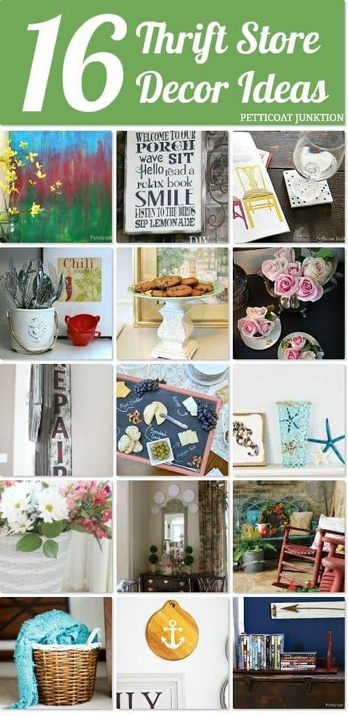 16 thrift store decor ideas petticoat junktion