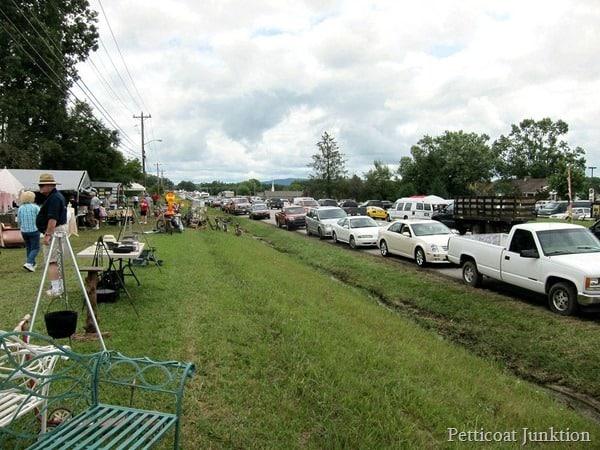 traffic 127 yard sale Petticoat Junktion