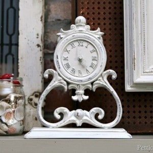A Timely DIY Clock Makeover | Thrift Store Decor