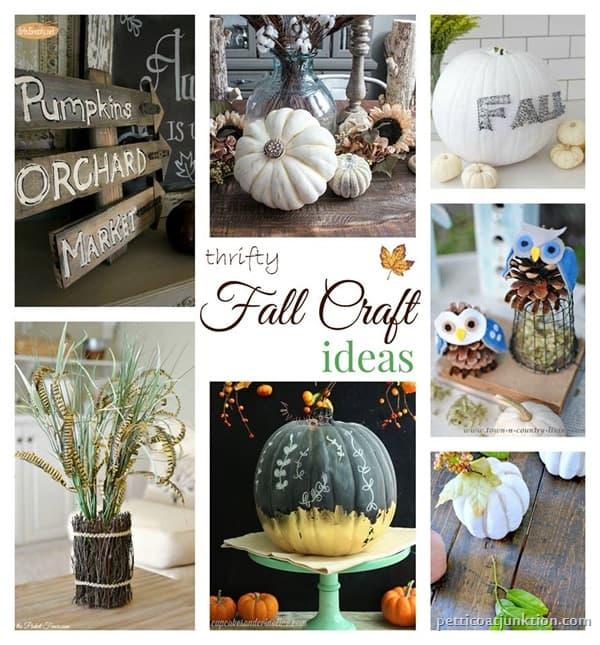 Fall Craft Ideas Petticoat Junktion