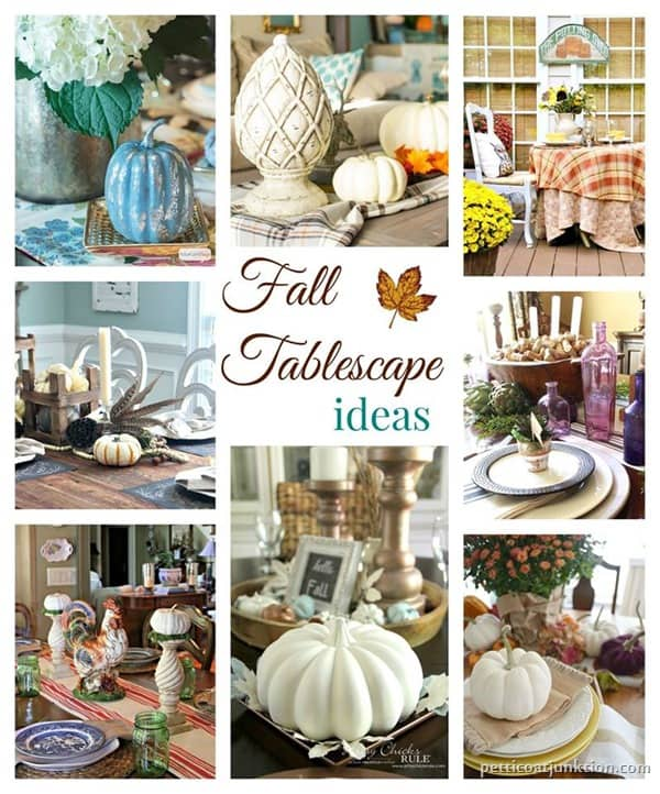 Fall Table Decorating Ideas Petticoat Junktion