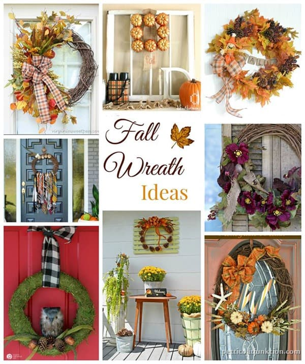 Fall Wreath Ideas Petticoat Junktion