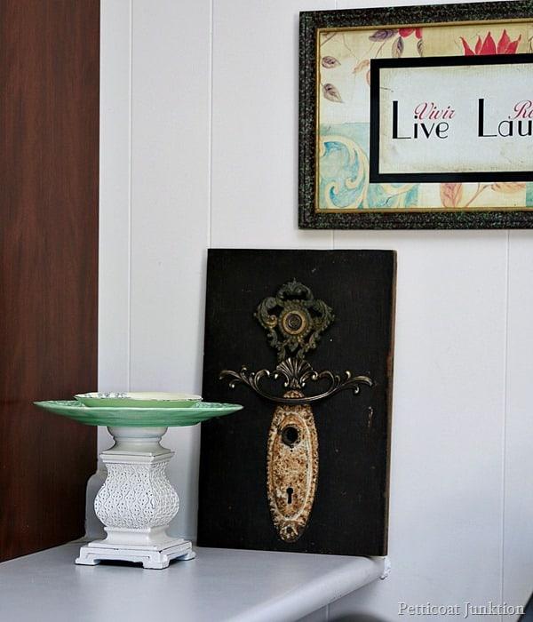 RosaAnne Angel no.1 Petticoat Junktion mixed media art