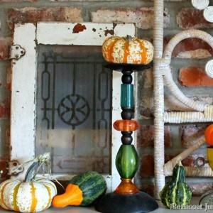 Fall Ideas Tour | Mantel Decor