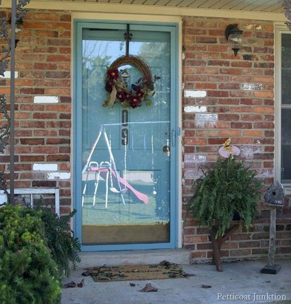 fall wreath Petticoat Junktion