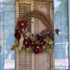 How To Snazz Up A Wreath | Fall Ideas Tour