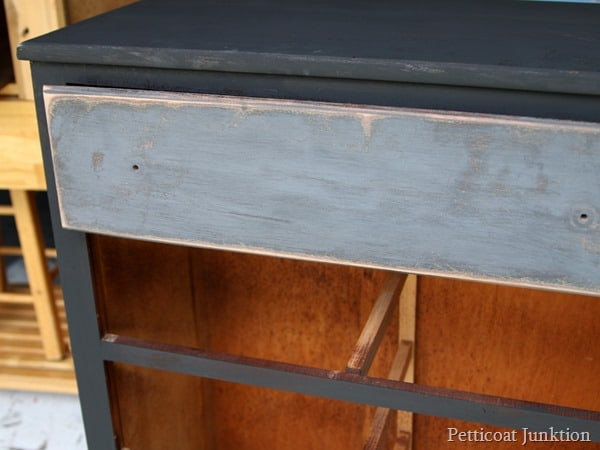 paint after distressing Petticoat Junktion