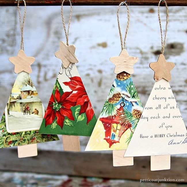 Christmas Tree Ornaments Petticoat Junktion