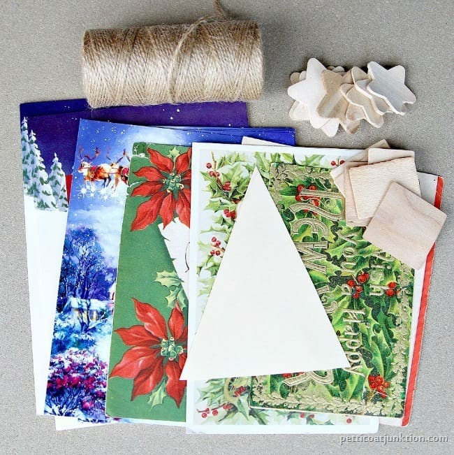 Christmas tree ornament supplies Petticoat Junktion