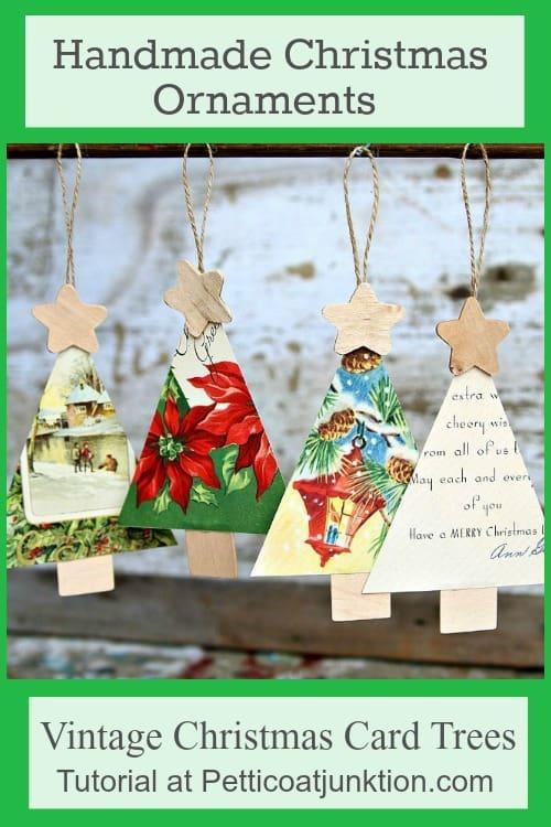 Handmade Christmas Ornament Tutorial Petticoat Junktion