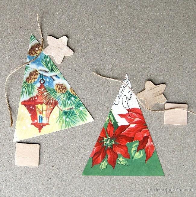 handmade christmas tree ornaments petticoat junktion - Christmas Card Ornaments