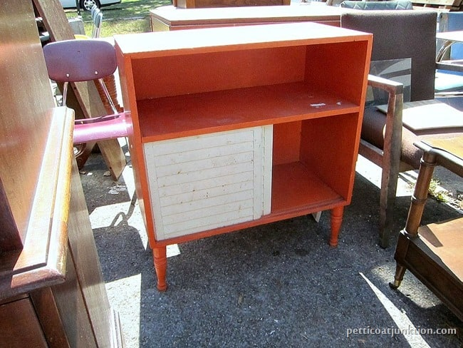 I found orange furniture Petticoat Junktion