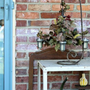 How To Repurpose An Art Deco Chandelier | Home For Fall