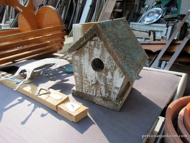 birdhouse junk shopping Petticoat Junktion