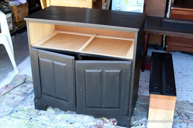 black furniture project Petticoat Junktion