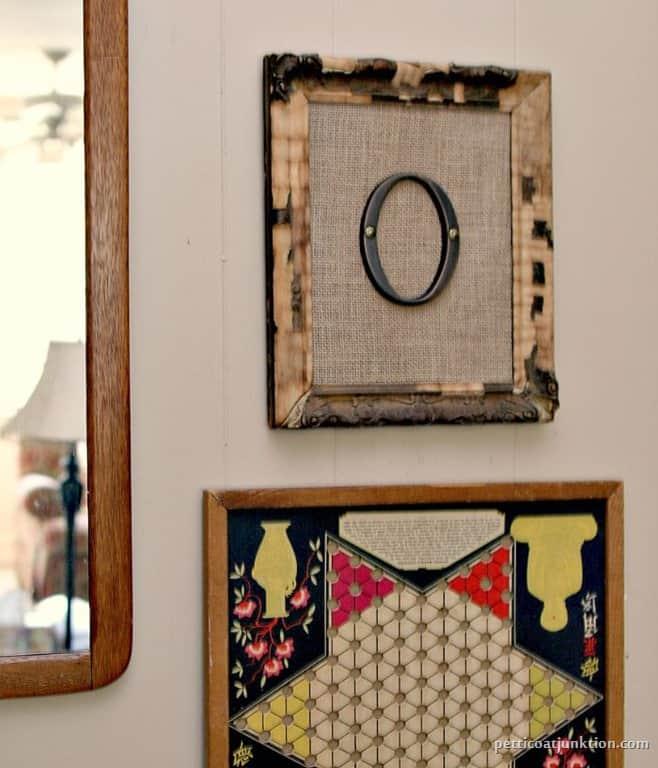 Burlap Monogram Wall Decor Petticoat Junktion