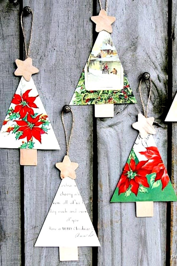christmas tree ornaments handmade diy