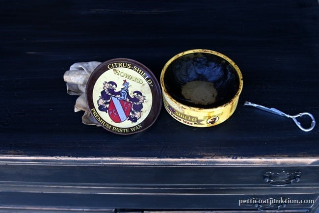 dark wax for furniture Petticoat Junktion