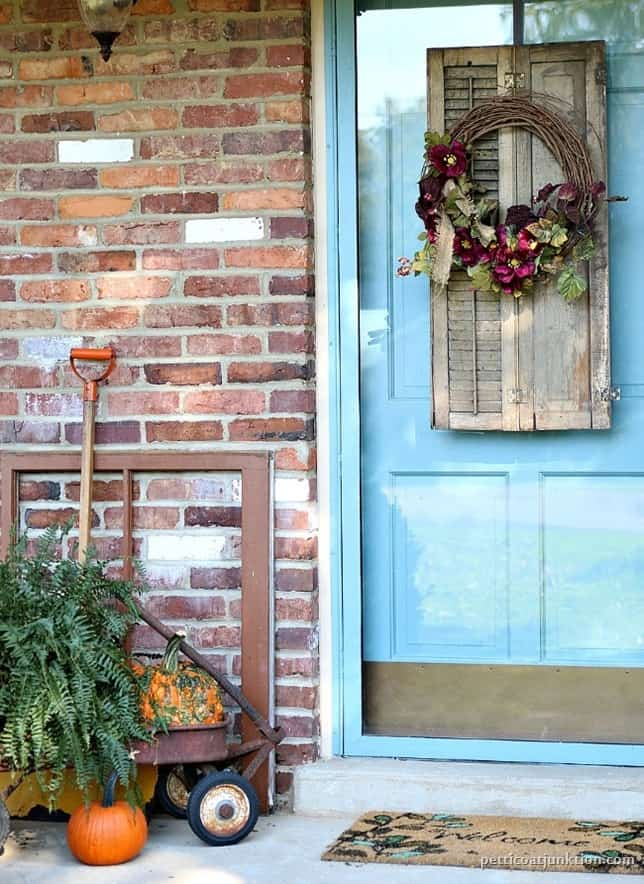 Fall Porch Decorating Ideas Petticoat Junktion