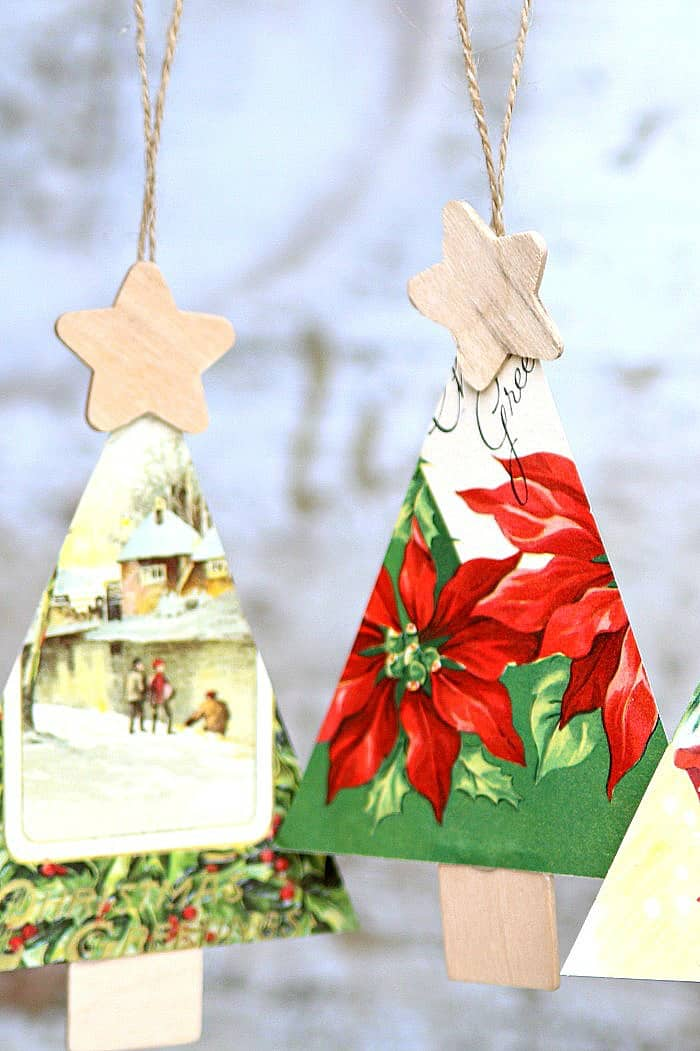 make Christmas ornaments with the kids