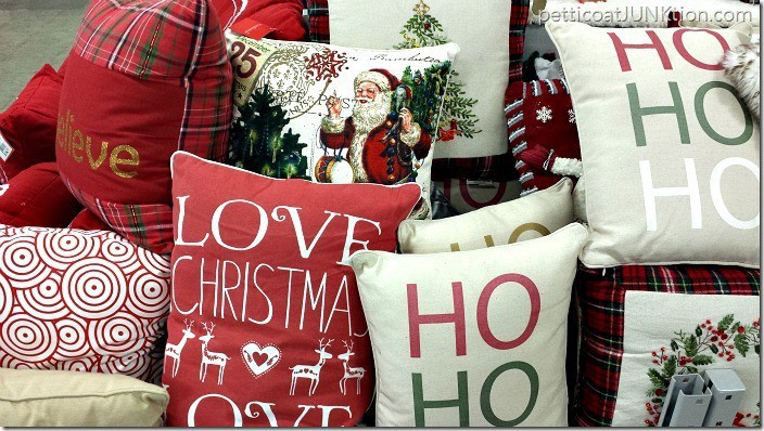 Christmas Pillows At Home Store Petticoat Junktion porject