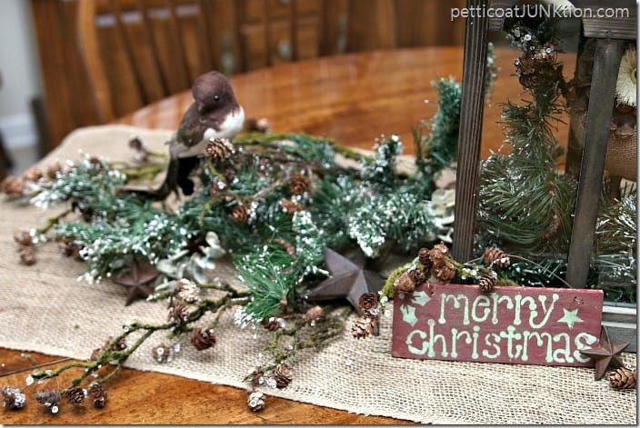 Christmas decor from At Home project by Petticoat Junktion 1