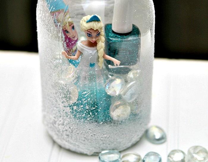 Elsa Frozen Mason Jar Gift DIY Petticoat Junktion1