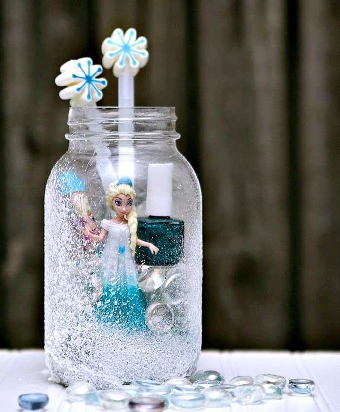 Elsa Frozen Mason Jar Gift Idea Petticoat Junktion 3