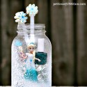 Elsa Frozen Mason Jar Gift Idea Petticoat Junktion diy