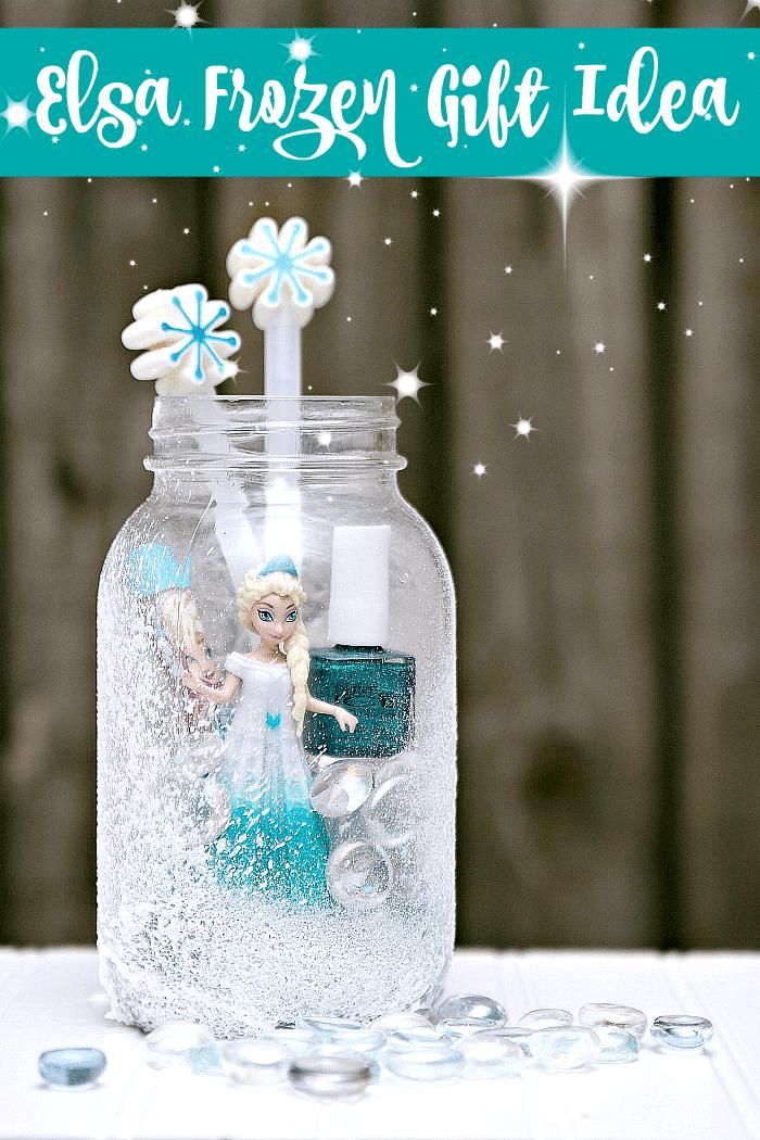 Elsa Frozen themed gift idea for girls