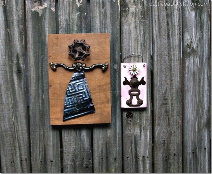Reclaimed Hardware Salvage Art RosaAnne Angels Petticoat Junktion