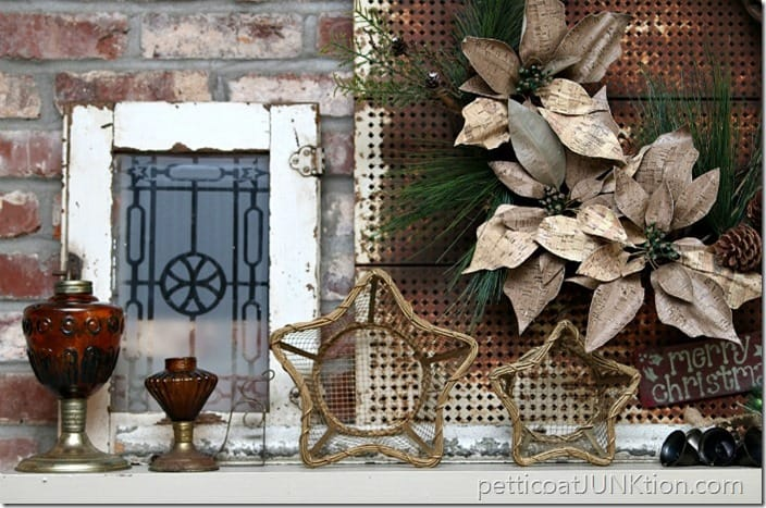 Rustic Mantel Decor Petticoat Junktion
