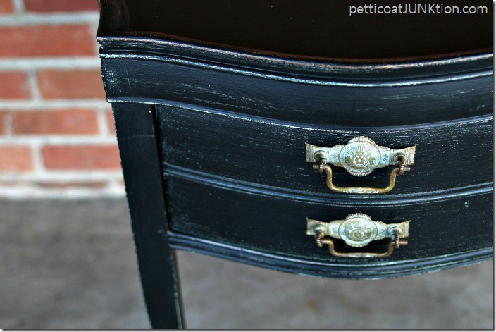 black distressed furniture Petticoat Junktion