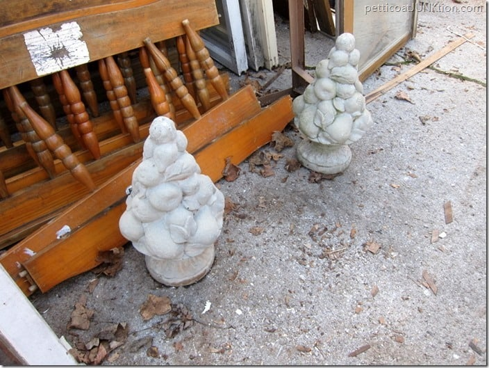 cement urns My Favorite Junk Shop Petticoat Junktion