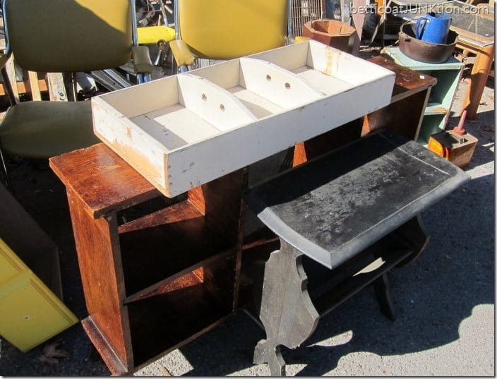 table projects before Petticoat Junktion