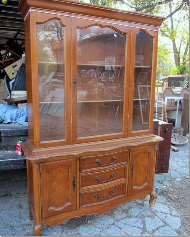 vintage china cabinet My Favorite Junk Shop Petticoat Junktion