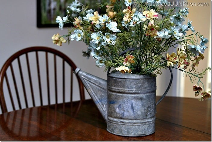 watering can flower planter Petticoat Junktion