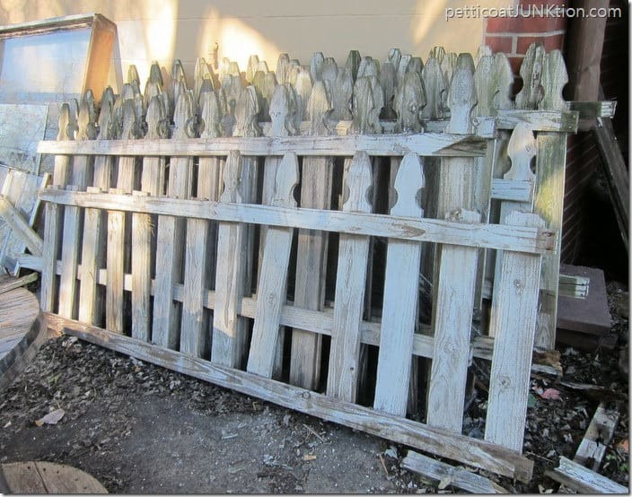 white picket fence Petticoat Junktion